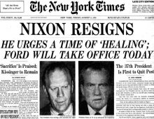 Nixon Resigns – August 8, 1974 – This Day in History