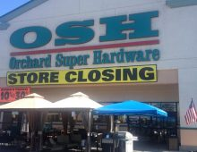Orchard Supply Hardware stores in California, Oregon and Florida Closing It's Doors