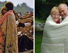 The Iconic Woodstock Album Cover, meet the Couple.