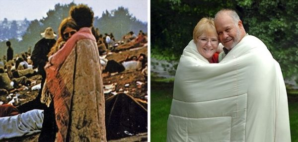 The Iconic Woodstock Album Cover, meet the Couple.