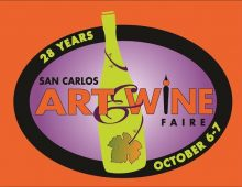 SAN CARLOS ART & WINE FAIRE: 10/6-7/2018
