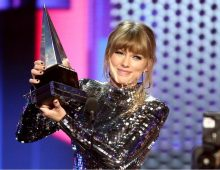 Taylor Swift is the most awarded female artist