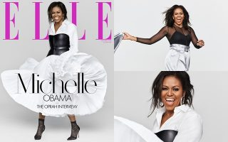MICHELLE OBAMA ON FRONT COVER OF 'ELLE'S DECEMBER 2018 ISSUE