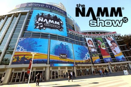 NAMM Show in Anaheim, CA from January 24-27