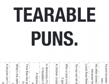 Puns have a Distinguished History.