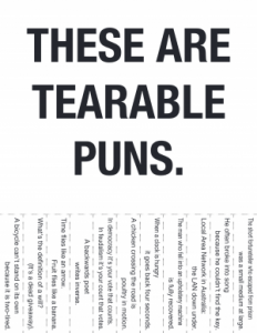 Puns have a Distinguished History