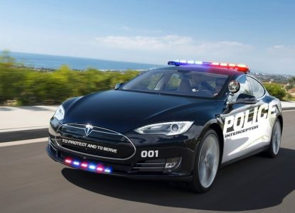 Fremont, CA is the First U.S. City with a Tesla Police Car.