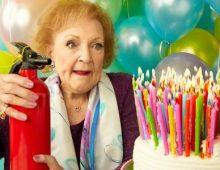 Betty White Celebrates 97th Birthday.
