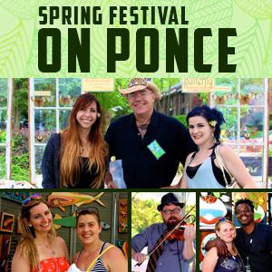 9th Annual Spring Festival on Ponce on April 6-7, 2019 in Atlanta, Georgia