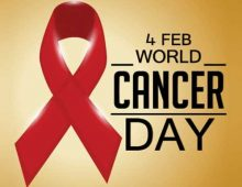 World Cancer Day – Every Year on 4 February.