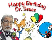Dr. Seuss's Birthday!