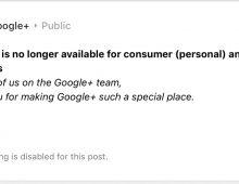 Google+ Failure = Lessons