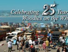 Woodies on the Santa Cruz Wharf – 25th Anniversary