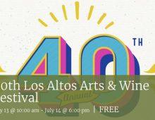 Los Altos Arts & Wine Festival - July 13 and 14, 2019