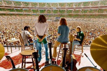 49 years ago on July 9, 1970, Crosby, Stills, Nash and Young played their last show