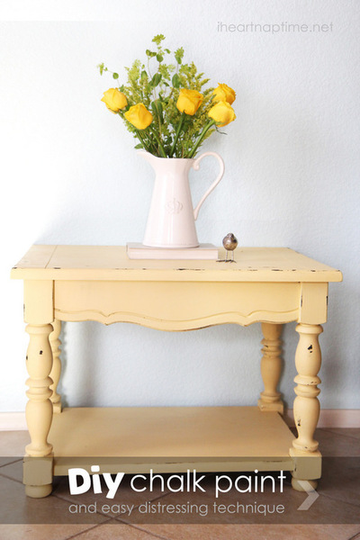 How to make chalk paint