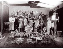 Cover shoot for Sgt Pepper