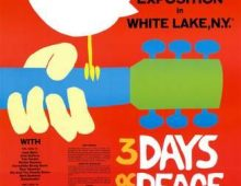 "Today we celebrate the 50th anniversary of the ""Woodstock Music & Art Fair""."