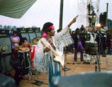 Jimi Hendrix Woodstock Performance Tidbits