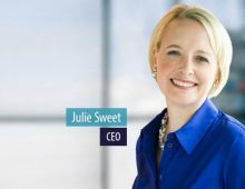 Julie Sweet is Accenture's (Fortune 500) New Woman CEO