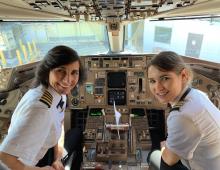 Mother Daughter Delta Piloted Flight