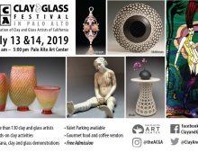 Clay & Glass Festival in Palo Alto,  July 13-14, 2019