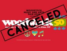 WOODSTOCK 50 IS OFFICIALLY CANCELED!