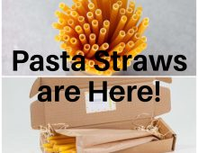 Pasta-bilities to Forget about Plastic and Paper straws, . . . Pasta straws are here.