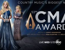 Brad Paisley Isn't Co-Hosting the 2019 CMA Awards With Carrie Underwood, Reba McEntire and Dolly Parton took his place.