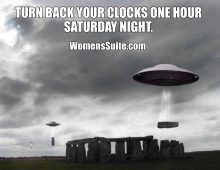 End of Daylight Saving Time (DST)
