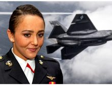 Meet the first female Marine F-35B pilot