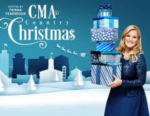 """Watch """"CMA Country Christmas"""" Tuesday, December 24th on ABC as Trisha Yearwood hosts!"""
