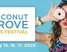 Coconut Grove Arts Festival – February 15,  16 & 17 of 2020 (57th Anniversary)