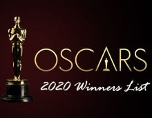 OSCAR WINNERS 2020 (Concise List)