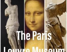 Paris Louvre Museum closes and locks it's door without any notice as result of the Coronavirus.