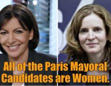 All of the Paris Mayoral Candidates are Women