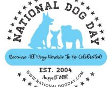 National Dog Day - August 26th