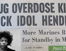 """The Jimi Hendrix Experience Was Over"" 50 Years Ago Today"