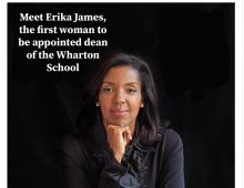 Meet Erika James, first woman appointed dean of the Wharton School