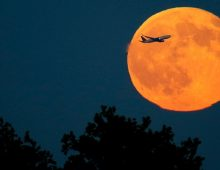 Halloween full Moon hadn't appeared for everyone in all time zones since 1944!