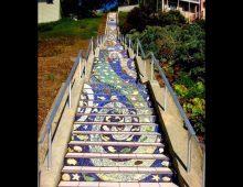 California - The 16th Avenue Steps, in San Francisco