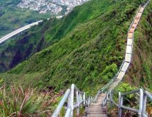 Hawaii – Haiku Stairs, a.k.a. 'stairway to heaven'