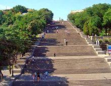 Ukraine - Potemkin Stairs in Odessa
