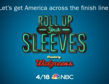 """""""Roll Up Your Sleeves,"""" airing at 7 p.m. EDT Sunday, April 18 on NBC"""