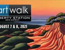 ArtWalk @ Liberty Station in San Diego: Aug. 7th – 8th, 2021 (Sat/Sun)