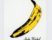 The Velvet Underground album cover by Andy Warhol