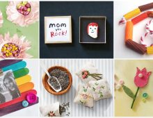 Simple DIY Mother's Day Gifts from Kids and Grandkids