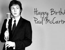 Paul McCartney Birthday, 79 years old.