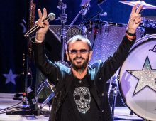 Sir Ringo Starr is celebrating 81 trips around the sun, July 7th, 1940