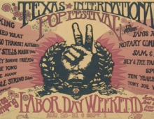 Texas International Pop Festival: 52nd Anniversary August 30 - September 1, 1969